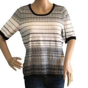 Christopher & Banks Short Sleeve Sweater